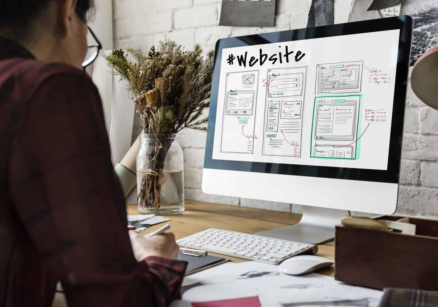 Website oder Webseite