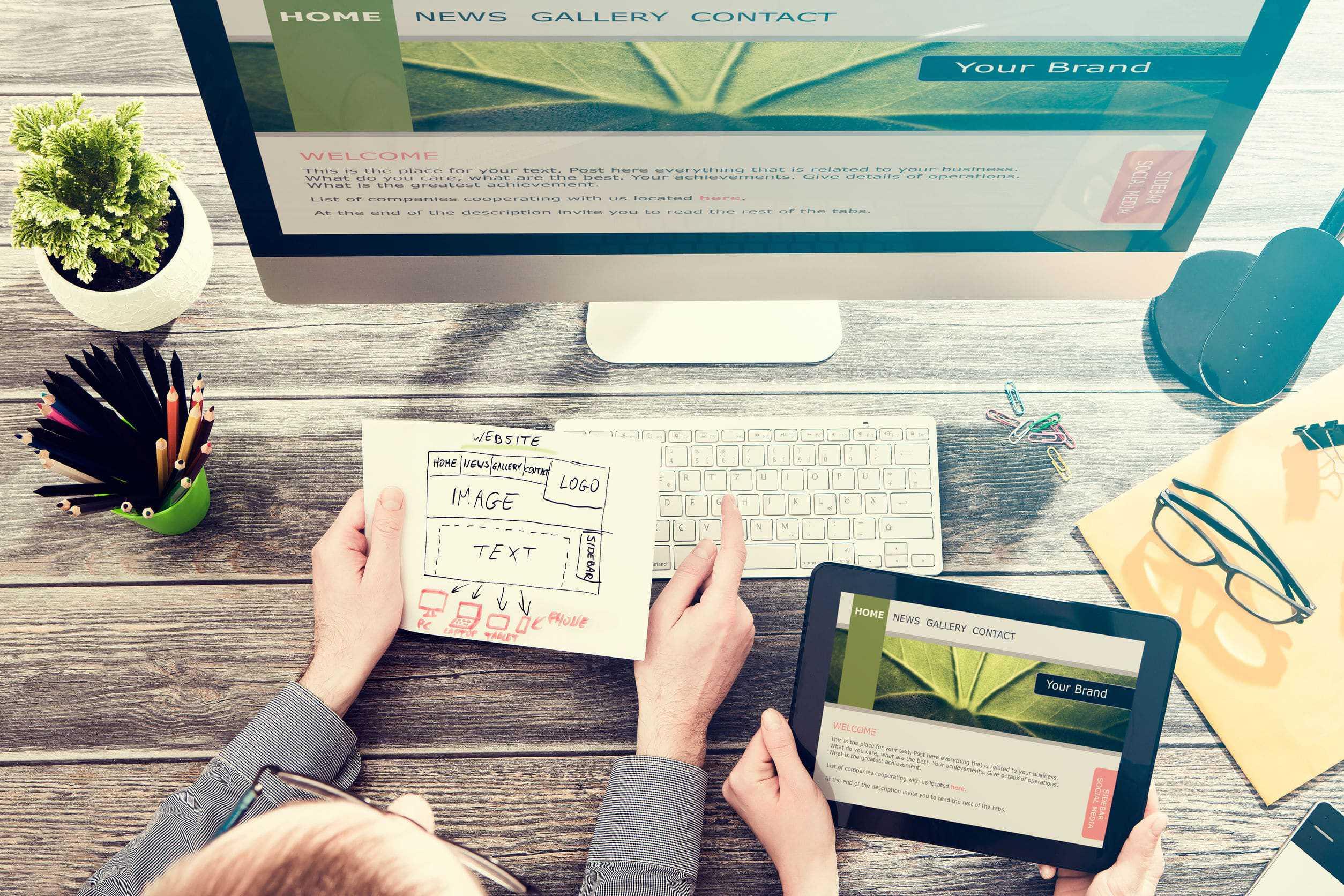 Professionelles Webdesign in Agentur