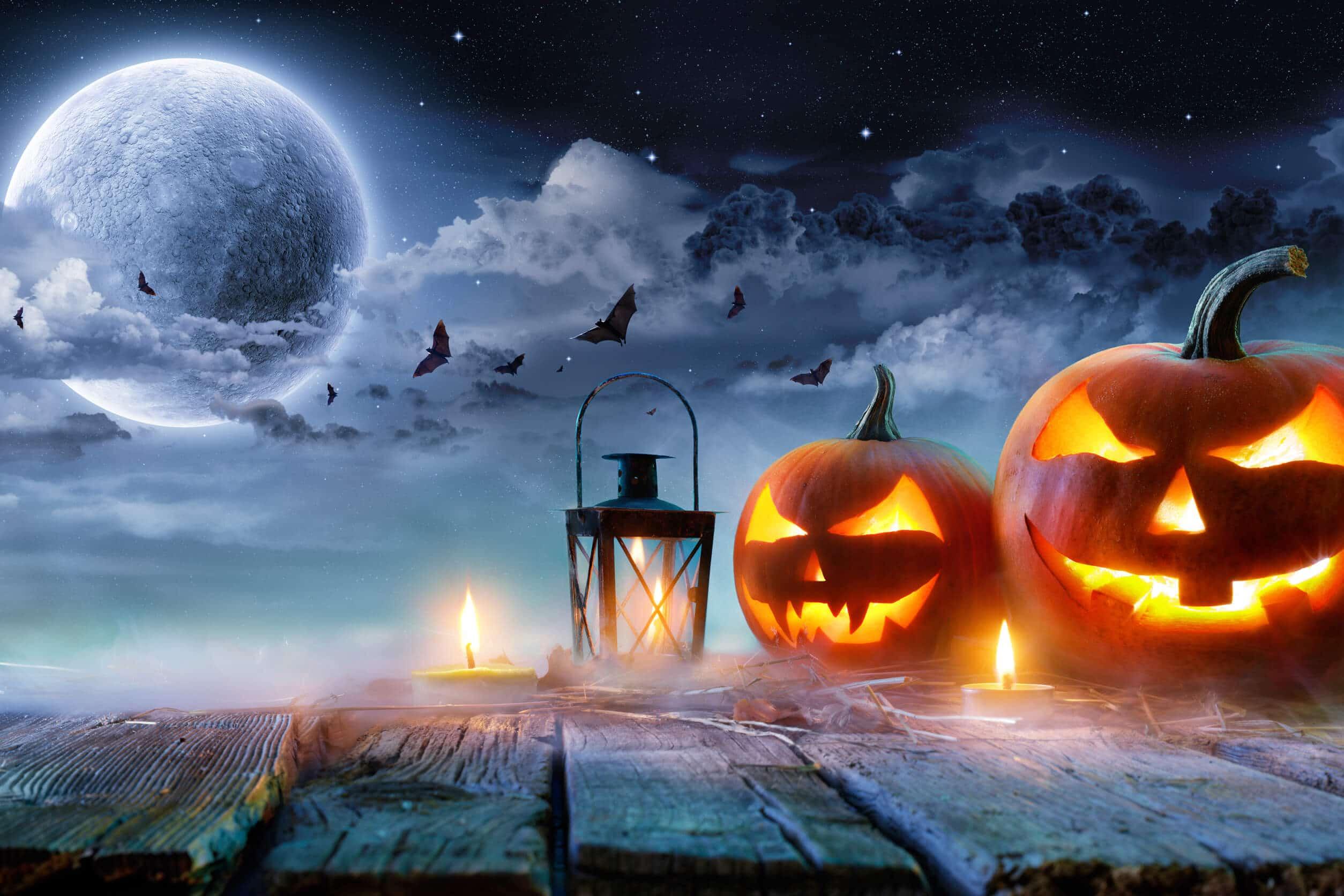 Halloween Werbung