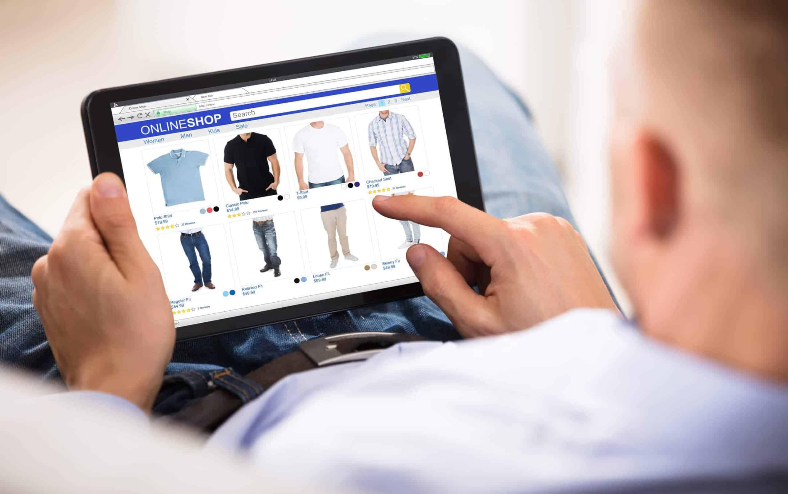 Online Shop Bekleidung erstellen