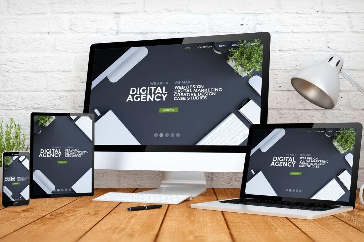 Firmenwebseite mit WordPress