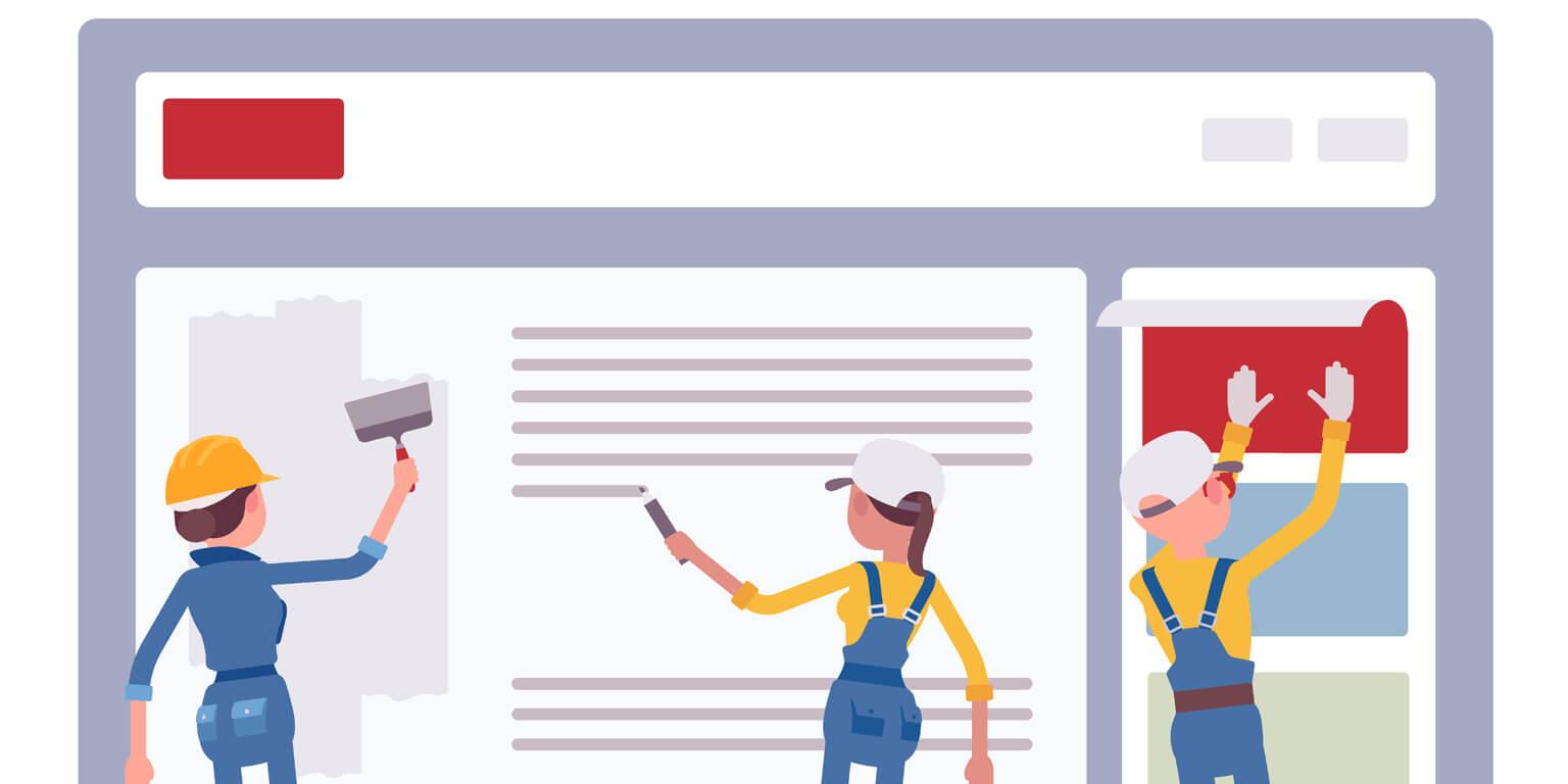Homepage Baukasten – Vorteile und Nachteile
