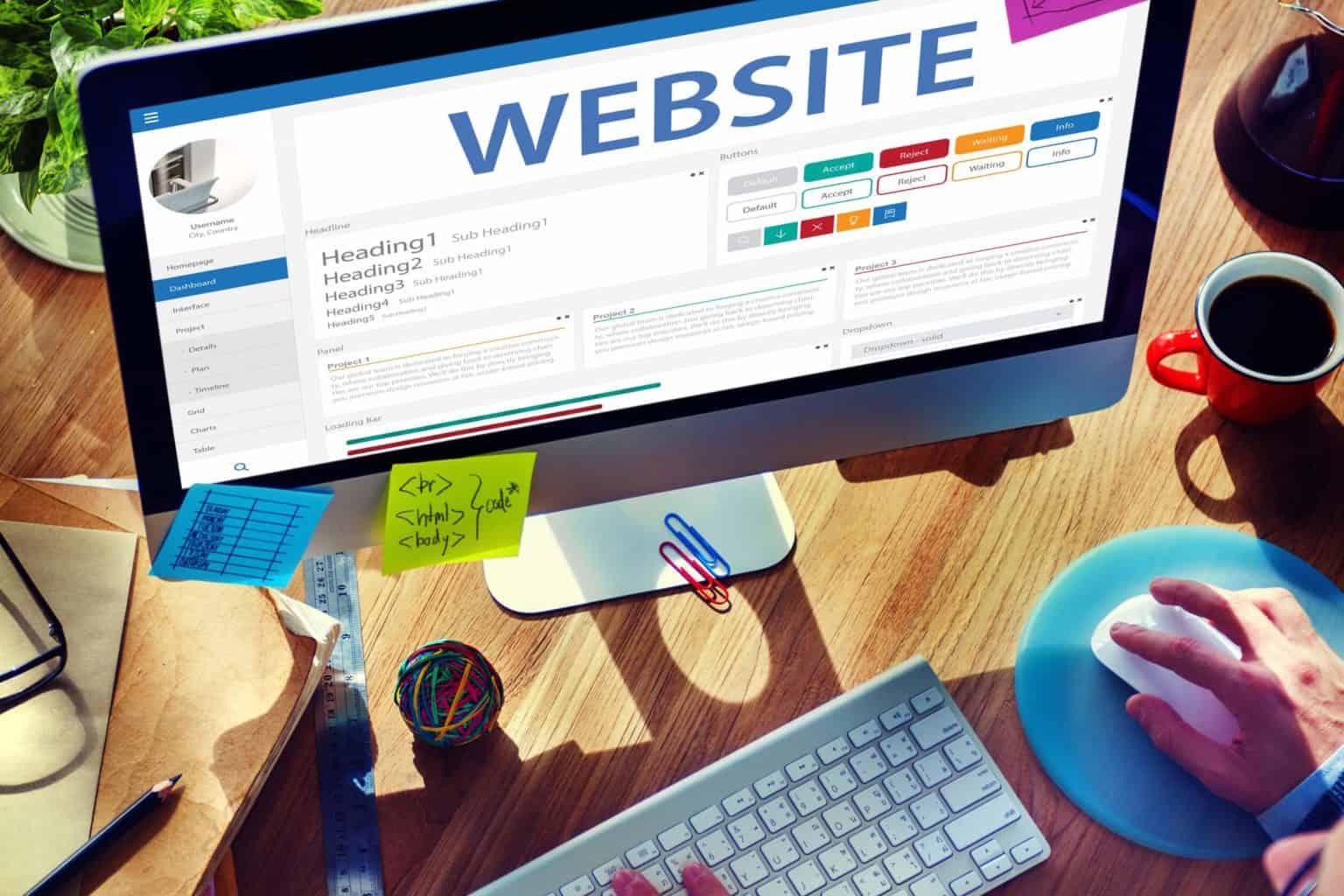 Homepage Webdesign vom Profi