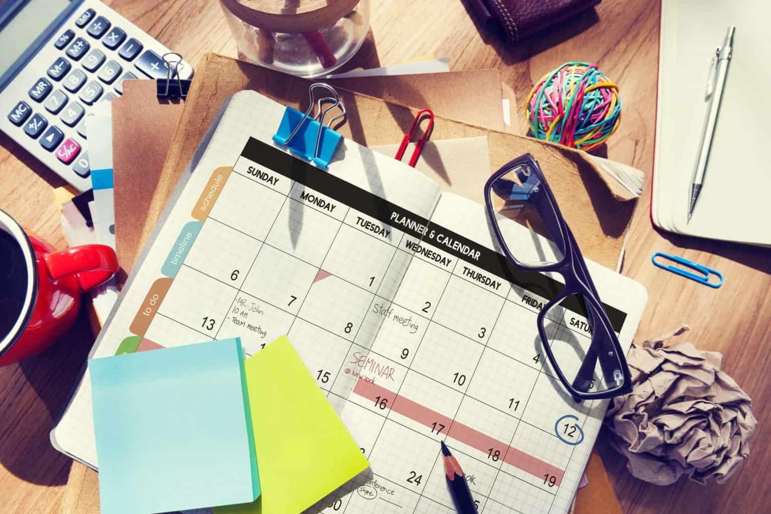 Kalender Online Marketing
