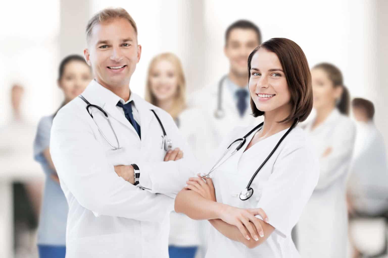 Professionelle Ärzte Homepage