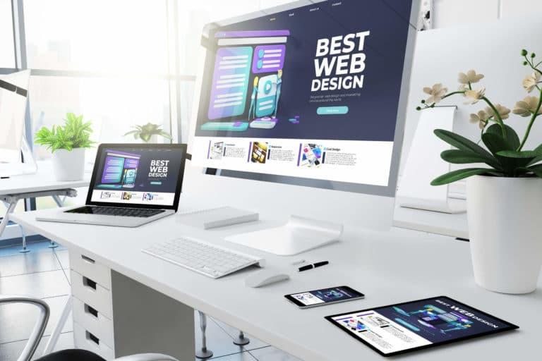 Schönes Webdesign vom Fachmann