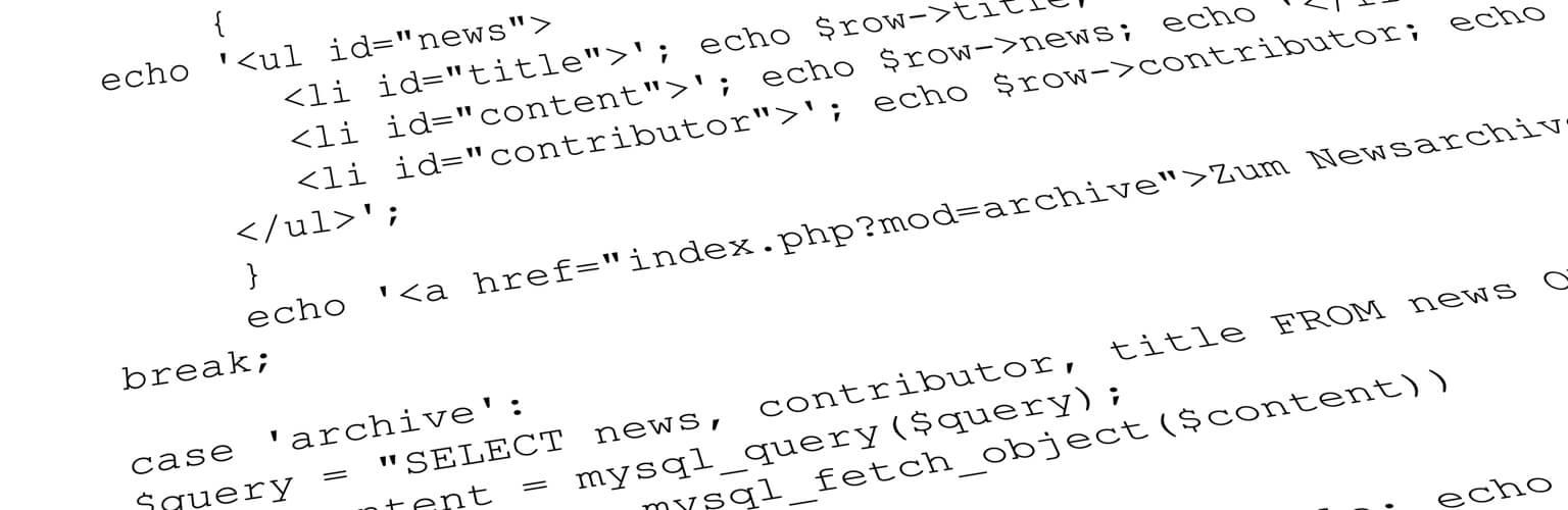 Webprogrammierung