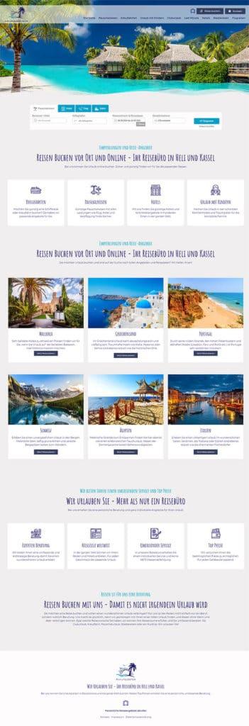 Referenz - Reiseportal - Wir urlauben Sie
