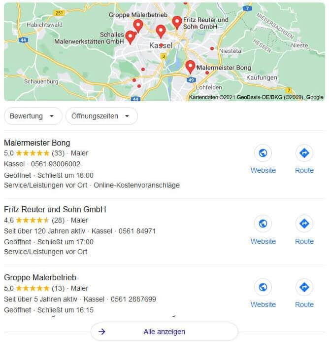 Local SEO Agentur - Optimierung
