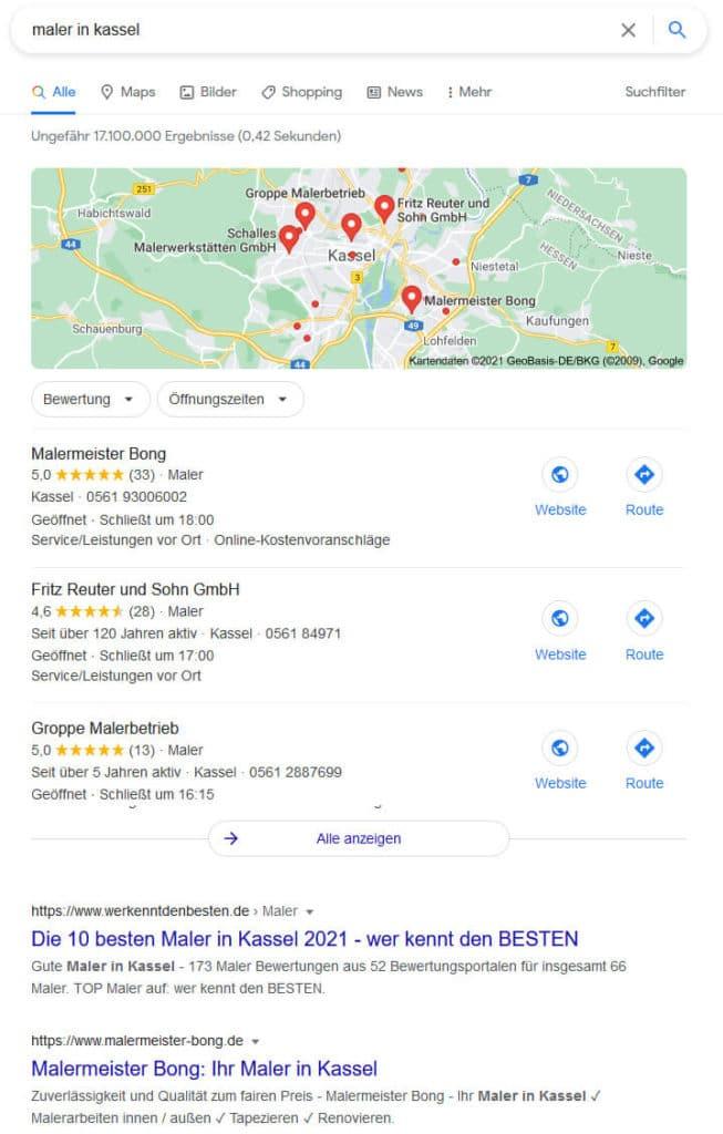 Lokale Suchmaschinenoptimierung um besser gefunden zu werden